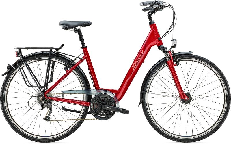 Diamant Ubari Komfort Indischrot 2016 - Trekking-Bike 2rad-center.com