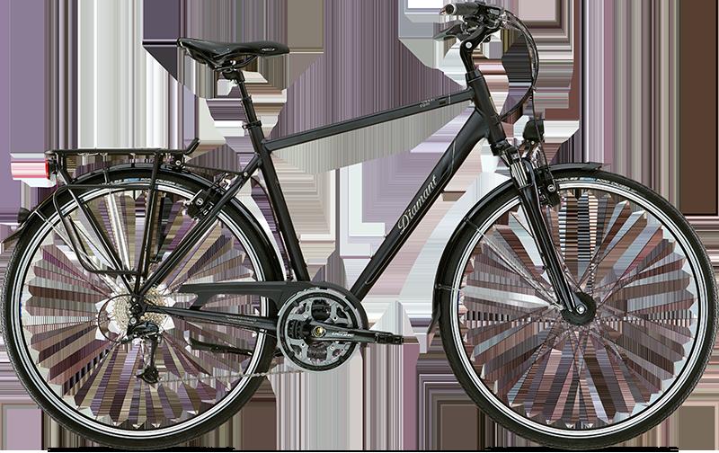 Diamant Ubari Esprit Tiefschwarz 2016 - Trekking-Bike 2rad-center.com
