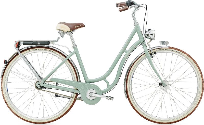 Diamant Topas Deluxe Moreagrün 2016 - Citybike 2rad-center.com