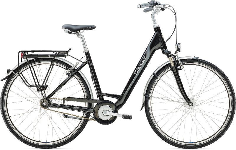 Diamant Achat Komfort Schwarz 2016 - Citybike 2rad-center.com